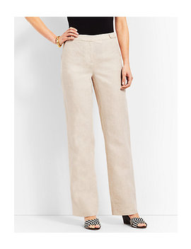 Talbots Windsor Linen Wide Leg Pant by Talbots