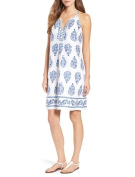 Paleys Paisley Sleeveless Shift Dress by Tommy Bahama