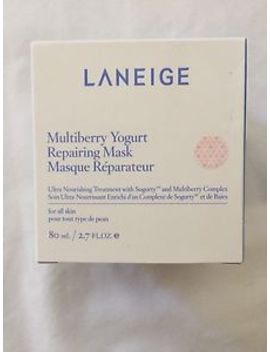 Brand New In Box Laneige Multiberry Yogurt Repairing Skin Care Mask 2.7fl Oz80ml by Laneige