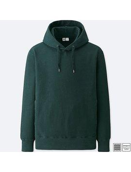 Men Uniqlo U 100 Percents Cotton Long Sleeve Hooded Sweatshirt by Uniqlo