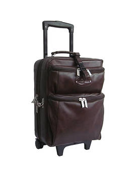 Leather Novix Garment Bag by Ameri Leather