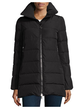 Petrea Quilted Puffer Coat by Moncler