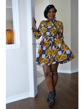 Kellys Trench Coat Dress by Etsy