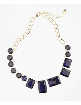Multi Stone Necklace by Brooks Brothers