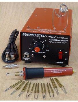 Burnmaster Hawk Single Port Woodburner Package   Burner + Pen + Tips (110 V) by Burnmaster