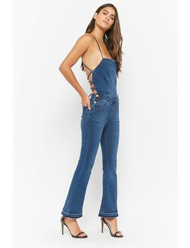 Cami Flare Overalls by F21 Contemporary