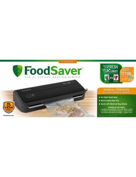 Food Saver Non Roll Vacuum Sealing System, Fm2000 015 by Food Saver