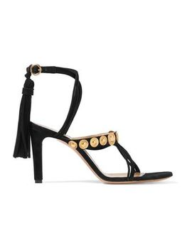 Embellished Suede Sandals by ChloÉ