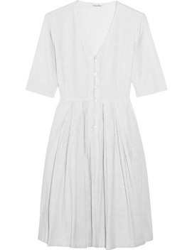 Libby Striped Cotton Dress by Steven Alan