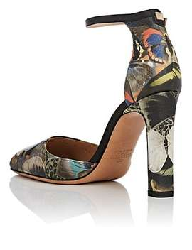 Camubutterfly Leather Sandals by Valentino Garavani