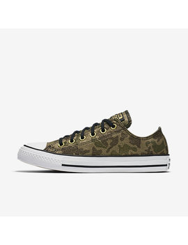 Converse Chuck Taylor All Star Lurex Camo Low Top by Nike