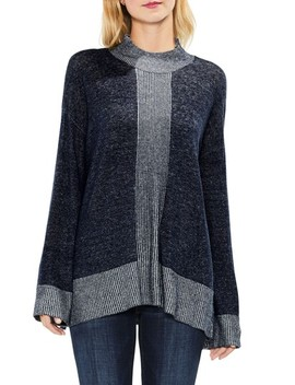 Ribbed Contrast Sweater by Two By Vince Camuto