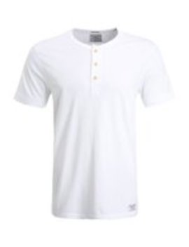 Essential Henley    T Shirt Basic by Abercrombie & Fitch
