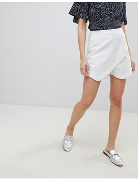 Asos Tailored Clean Linen Skort by Asos Collection