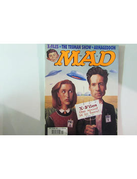 Mad Magazine, October 1998, X Files by Etsy