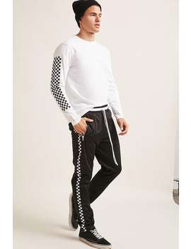 Checkered Track Pants by Forever 21