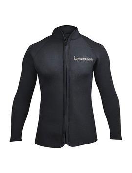 Lemorecn Adult's 3mm Wetsuits Jacket Long Sleeve Neoprene Wetsuits Top by Lemorecn