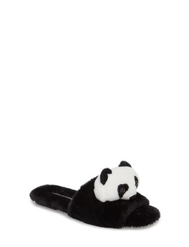 Plush Animal Slipper by Jeffrey Campbell