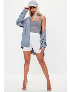 Grey Basic Strappy Cami Top by Missguided