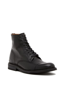 Seth Leather Lace Up Boot by Frye
