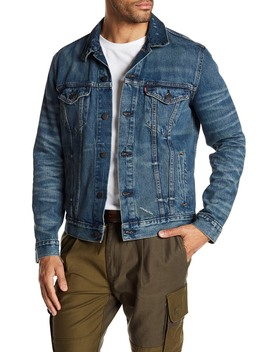 The Distressed Denim Trucker Jacket by Levi's