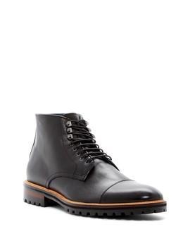 Sullivan Leather Boot by Rush By Gordon Rush