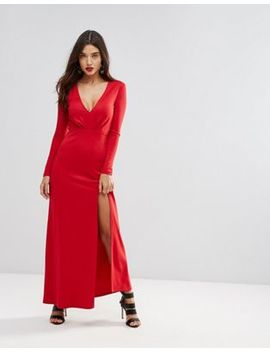 Ivyrevel Maxi Dress With Slit Front by Ivyrevel