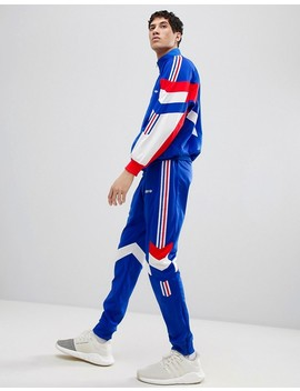 Adidas Originals Vintage Tapered Joggers In Blue Ce4854 by Adidas Originals