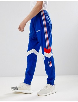 Adidas Originals Vintage Tapered Tracksuit In Blue by Asos Brand