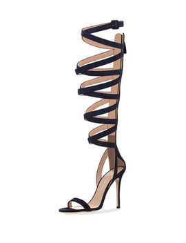 Emme 105mm Gladiator Sandal by Neiman Marcus