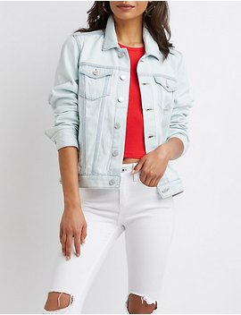 Refuge Classic Denim Jacket by Charlotte Russe