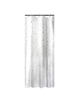 Water Drops Shower Curtain White/Blue   Room Essentials™ by Room Essentials™