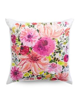 Floral Decorative Throw Pillow  20 In. by Kate Spade New York