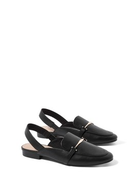 Lemonade Trim Slingback Loafers by Topshop