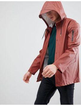 New Look Rain Coat In Rust by New Look