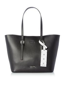 Ck Zone Medium Shopper Tote Bag by Calvin Klein