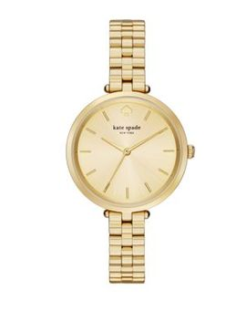 Holland Yellow Goldtone Stainless Steel Bracelet Watch by Kate Spade New York