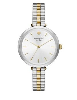 Two Toned Stainless Steel Bracelet Watch by Kate Spade New York