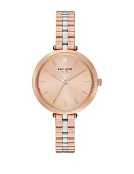 Holland Two Tone Stainless Steel Watch by Kate Spade New York