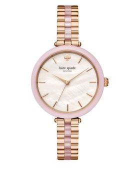 Rose Goldtone & Blush Pink Acetate Holland Watch by Kate Spade New York