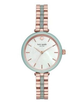 ??Olland Stainless Steel Ip Bracelet Watch by Kate Spade New York