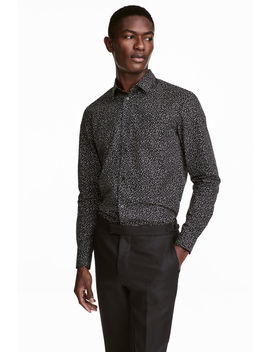 Baumwollhemd Slim Fit by H&M