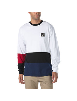 Chima Colorblock Long Sleeve T Shirt by Vans