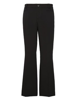 Logan Trouser Fit Cropped Bi Stretch Pant by Banana Repbulic