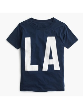 """La"" T Shirt by J.Crew"