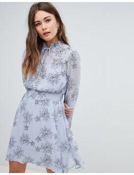 Boohoo – Langärmliges, Geblümtes Kleid by Boohoo