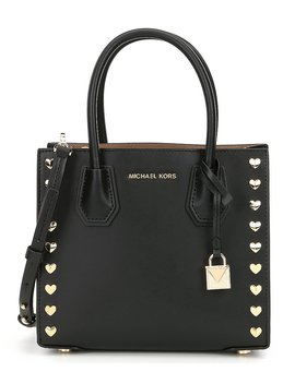Michael Michael Kors Studio Mercer Heart Stud Cross Body Bag by Michael Michael Kors