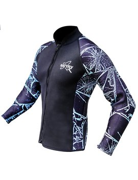 Naty Fly Wetsuit Jacket Long Sleeve Neoprene Wetsuits Top For Men/Women by Naty Fly