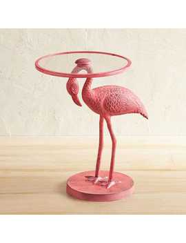 Metal Flamingo Accent Table by Pier1 Imports