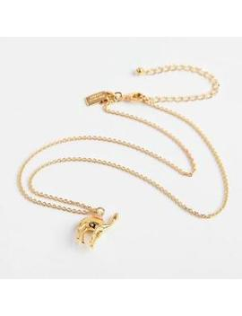 Kate Spade New York Gold Tone Spice Things Up Camel Mini Pendant Necklace by Kate Spade